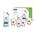 Bộ bình nước Glasslock-CG981