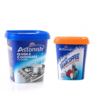 Bộ sản phẩm tẩy rửa Astonish 2 món